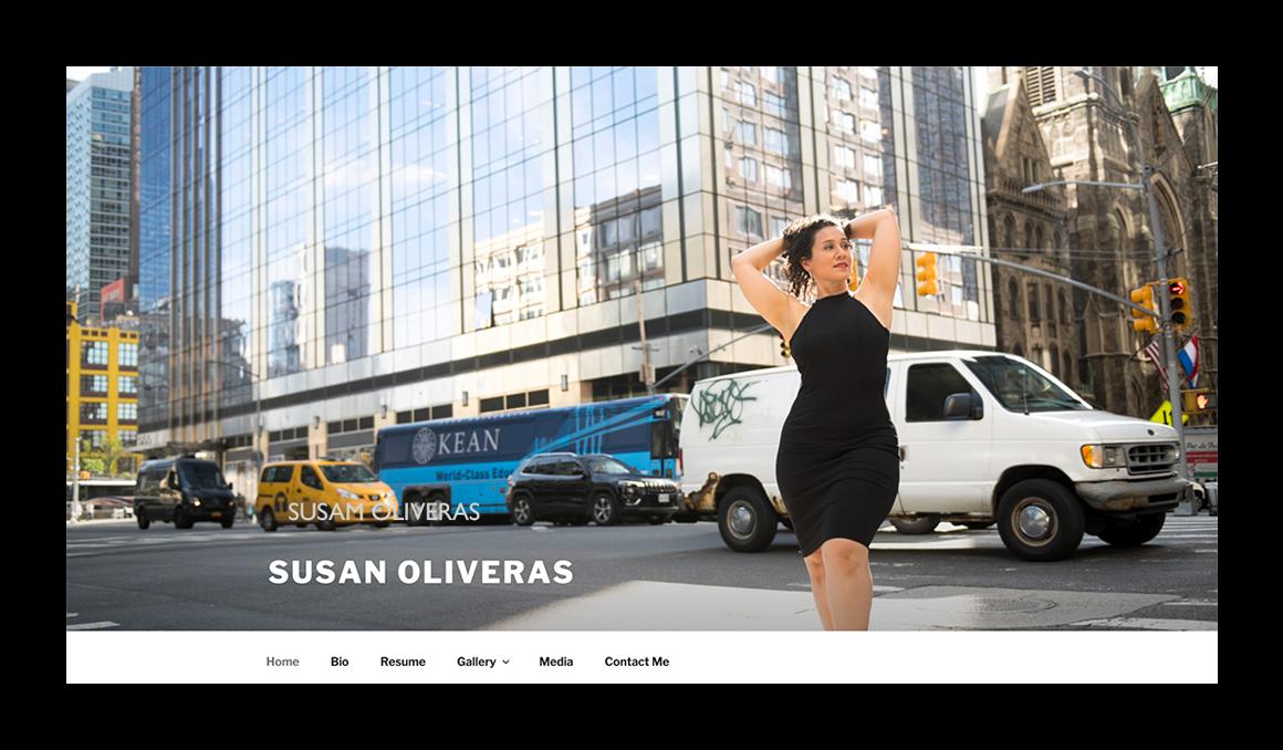 Susan Oliveras landing layout